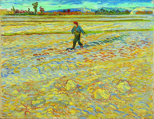 Vincent Van Gogh Der Sämann, 1888 Kunstmuseum Bern Dauerleihgabe Hahnloser/Jaeggli Stiftung