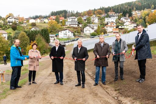 Zweitgrößte Großsolaranlage Österreichs in Mürzzuschlag eröffnet.
