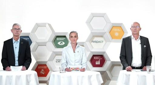 BILD ZU OTS – CSR-Tag 2020: Begrüßung im Studio Totale