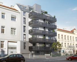 WINEGG: Verkaufsstart von 39 Eigentumswohnungen in der Hohenbergstraße