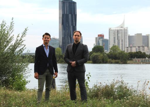 Geschäftsführung: Tobias Mayer (links) und Dietmar Pichler (rechts).