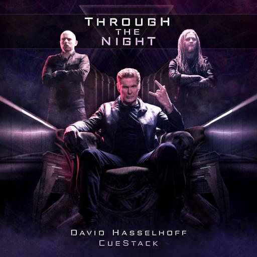 "Cover der kommenden Single namens ""Through the Night""."