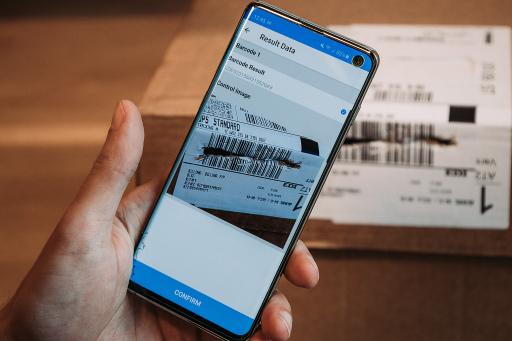 Mit der neuesten Barcode-Scantechnologie von Anyline können Barcode-Scanner nun sogar beschädigte Barcodes korrekt erfassen und digital verarbeiten. Mobile Datenerfassungstechnologien von Anyline.