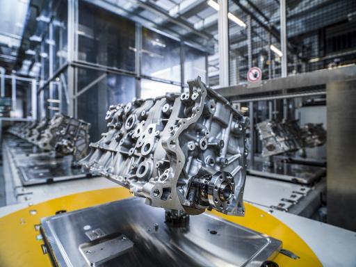 Neues Montageband im BMW Group Werk Steyr