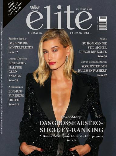 Das Cover der neuen Ausgabe von Elite