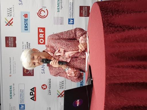 Maria Rauch-Kallat eröffnet den 22. Österreichichen Journalistinnenkongress