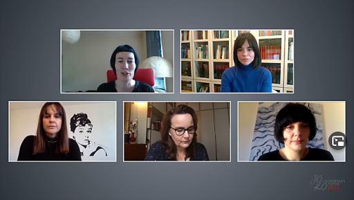 Topmedienfrauen diskutieren im Live-Stream wie Corona den Journalismus verändert hat.