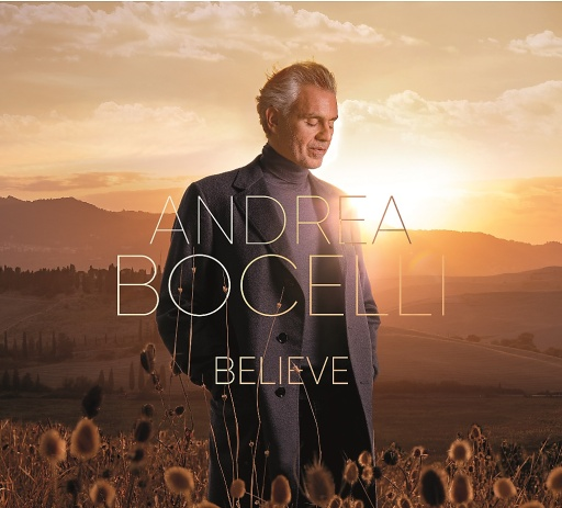 Album Cover BELIEVE von Andrea Bocelli