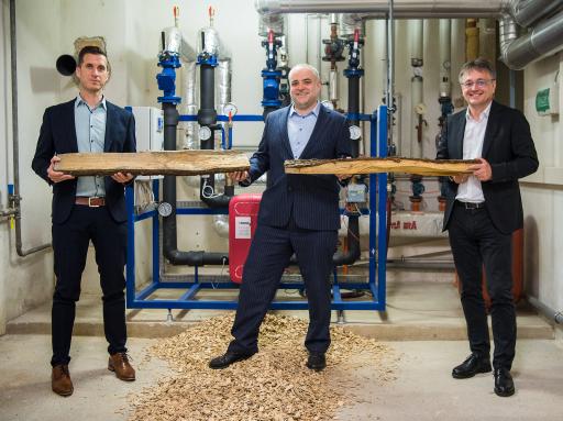 Esterhazy Betriebe ans Fernwärmenetz der Energie Burgenland in Eisenstadt angeschlossen