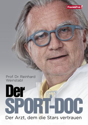 """Buchcover """"Der Sport-Coc - Der Arzt, dem die Stars vertrauen"""""""