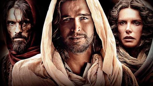 """Judas (Joe Wredden), Jesus (Diogo Morgado), Maria (Roma Downey). Copyright: MGM / Weiterer Text über ots und www.presseportal.de/nr/55188 / Die Verwendung dieses Bildes ist für redaktionelle Zwecke honorarfrei. Veröffentlichung bitte unter Quellenangabe: """"obs/Bibel TV"""""""