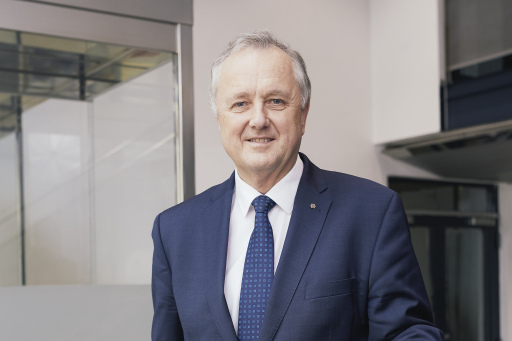 Vorstandsvorsitzender Dipl.-Ing. Karl Weidlinger, Swietelsky AG