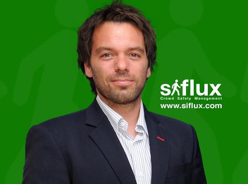 Martin Bardy, Geschäftsführer von siflux - Crowd Safety Management.