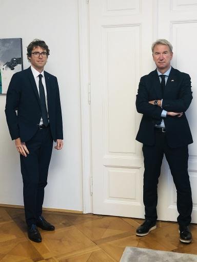 Dr. Günther Gast (links) und Dr. Dietmar Czernich