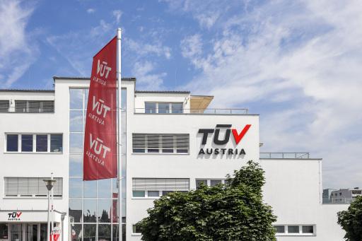 TÜV AUSTRIA Standort in Leonding (Oberösterreich/Traunviertel)