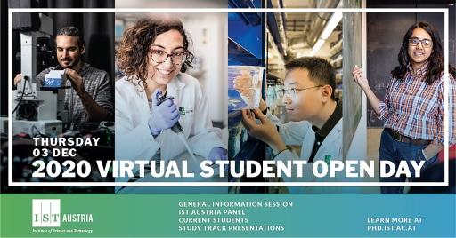 IST Austria präsentiert PhD-Programm in einer virtuellen Veranstaltung für Studierende weltweit
