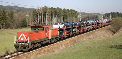 Summerauerbahn Autotransport zu unserem Nachbar