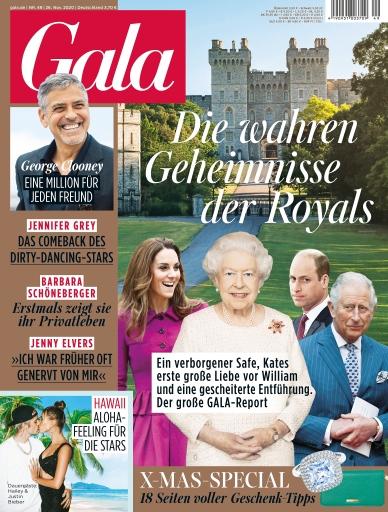 """GALA Cover 49/2020 (EVT: 26. November 2020) / Weiterer Text über ots und www.presseportal.de/nr/6106 / Die Verwendung dieses Bildes ist für redaktionelle Zwecke honorarfrei. Veröffentlichung bitte unter Quellenangabe: """"obs/Gruner+Jahr, Gala"""""""