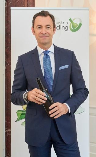 Dr. Harald Hauke, Geschäftsführer von Austria Glas Recycling und Vorstand der ARA AG
