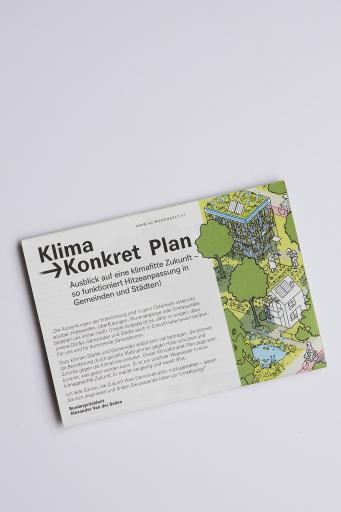 Der KlimaKonkret-Plan ergeht in diesen Tagen an alle österreichischen Städte und Gemeinden.