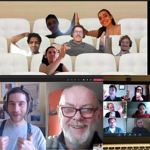 Digital verbunden arbeiten die interdisziplinären Teams zusammen