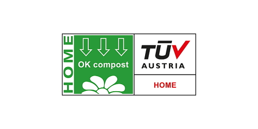 TÜV AUSTRIA OK compost HOME Prüfzeichen