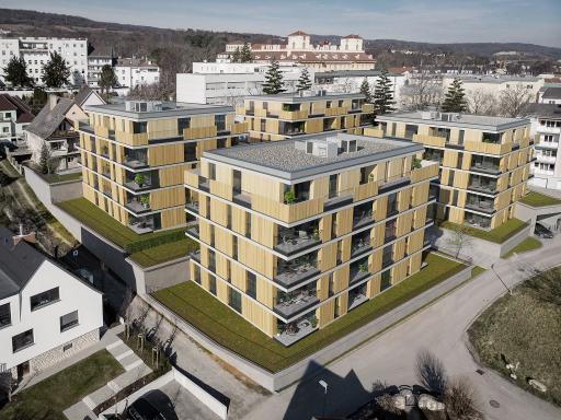 """Projektansicht """"Wohnen im Schlossquartier"""" Eisenstadt"""