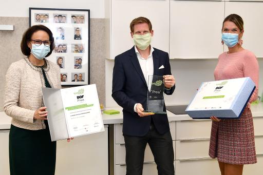 Verleihung des BGF-Preises für Wien im Büro von LIMESODA