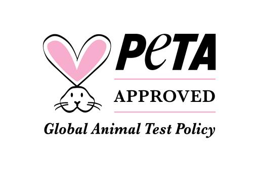 """lavera testet aus Überzeugung nicht an Tieren - approved by PETA / Weiterer Text über ots und www.presseportal.de/nr/64783 / Die Verwendung dieses Bildes ist für redaktionelle Zwecke honorarfrei. Veröffentlichung bitte unter Quellenangabe: """"obs/Laverana GmbH/PETA e.V."""""""