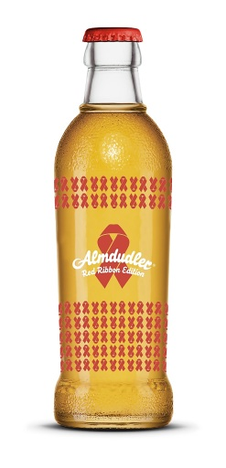 Almdudler Red Ribbon Edition 2020 - 0,25l Glasflasche