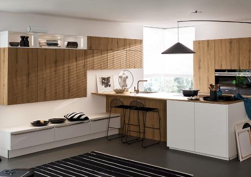 OZONOS Aircleaner in weiß in einer Nolte Küche