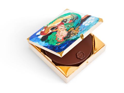 Die Original Sacher-Torte in der Limited Edition von Karel Appel
