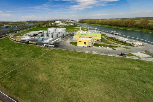 Biodieselproduktion im Wiener Ölhafen Lobau