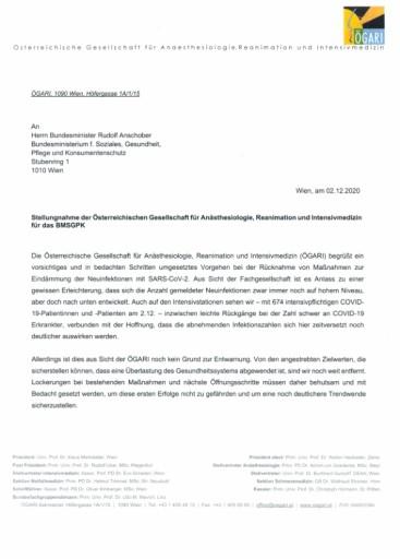 Anschober: Verordnung mit nächtlichen Ausgangsbeschränkungen vom Hauptausschuss des Nationalrates mit deutlicher Mehrheit gebilligt