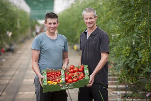 LGV Gemüsegärtner Thomas und Martin Merschl aus Wien-Donaustadt