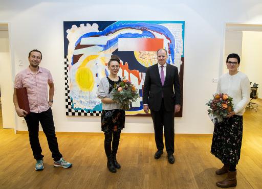 21/kunstakt: Fellner Wratzfeld & Partner (fwp) Herzensprojekt als virtueller Art Walk: Gruppenfoto