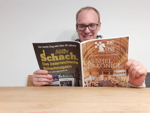 Markus Ragger ist seit mehreren Jahren Österreichs erfolgreichster Schachspieler. Vom Magazin 'Schach Aktiv' wurde er anläßlich des 100-Jahr-Jubiläums zum Spieler des Jahrhunderts gewählt.