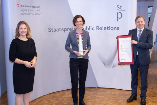 Staatspreis PR Sieger 2020 ist SOS-Kinderdorf