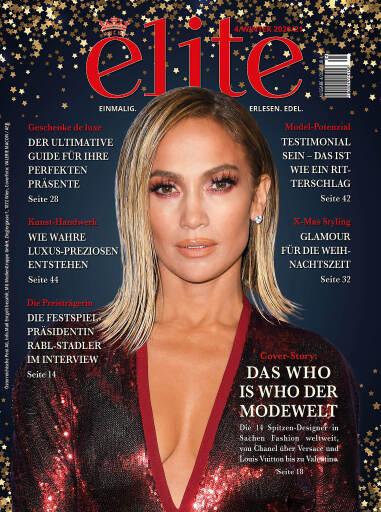 Cover der neuesten Ausgabe von ELITE