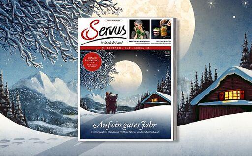 Servus in Stadt & Land Jubiläumsausgabe Cover