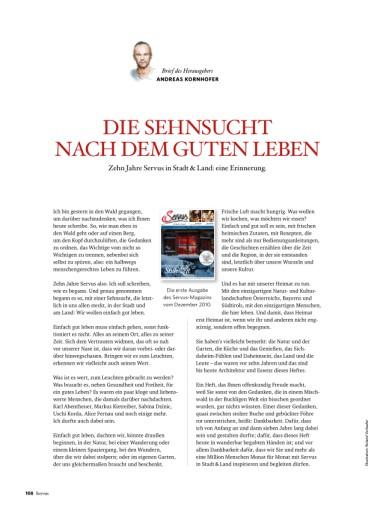 Österreichs größtes Monatsmagazin ist zehn Jahre alt
