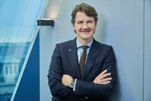 Gerald Fleischmann, Generaldirektor der VOLKSBANK WIEN AG, setzt auf Regionalität