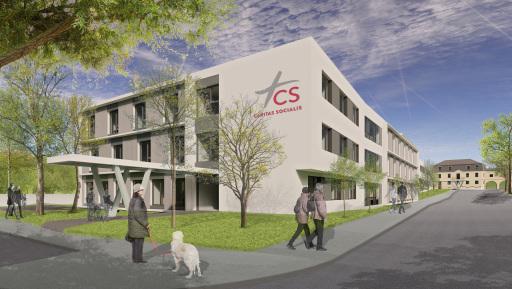Bauwert Projektmanagement übernimmt Projektsteuerung und Örtliche Bauaufsicht für Caritas Socialis