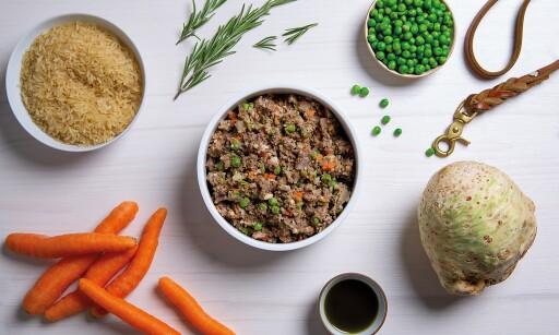 Frisch gekochtes Hundefutter mit gesunden Zutaten individuell auf deinen Hund abgestimmt