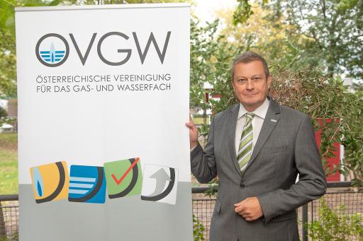 Dipl.-Ing. Michael Haselauer, MBA fungiert seit Jahresbeginn für die nächsten zwei Jahre als Präsident der ÖVGW.