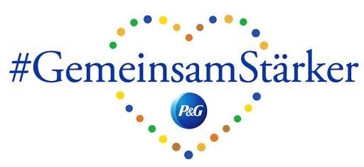 """Logo Initiative #GemeinsamStärker / Neue Initiative #GemeinsamStärker von P&G: Jetzt kann jeder lokal und digital Zeichen des Guten setzen / Weiterer Text über ots und www.presseportal.de/nr/13483 / Die Verwendung dieses Bildes ist für redaktionelle Zwecke honorarfrei. Veröffentlichung bitte unter Quellenangabe: """"obs/Procter & Gamble Germany GmbH & Co Operations oHG"""""""