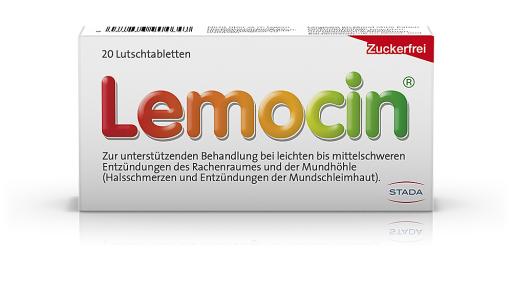 Produktabbildung Lemocin Lutschtabletten