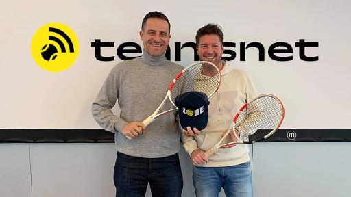 Die tennisnet-Geschäftsführung Alexander Antonitsch und missMEDIA Geschäftsführer Jochen Hahn