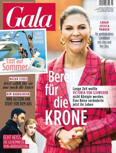 """GALA Cover 3/2021 (EVT: 14. Januar 2021) / Weiterer Text über ots und www.presseportal.de/nr/6106 / Die Verwendung dieses Bildes ist für redaktionelle Zwecke honorarfrei. Veröffentlichung bitte unter Quellenangabe: """"obs/Gruner+Jahr, Gala"""""""