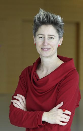 Judith Högerl hat mit Jänner 2021 die Leitung des APA-Büros Burgenland in Eisenstadt übernommen. - FOTO: APA/ROBERT JAEGER